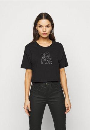 ONLILLA LIFE - Print T-shirt - black