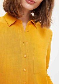 DeFacto - Button-down blouse - yellow - 3