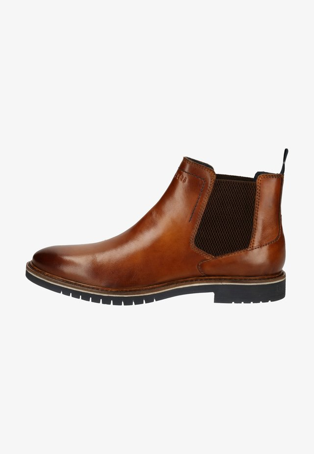 Bottines - cognac 6300