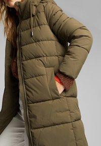 Esprit - Winter coat - khaki green - 7