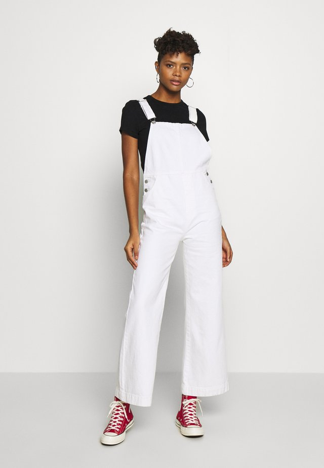 OLD MATE OVERALL - Dungarees - vintage white