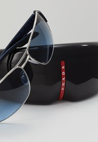 Prada Linea Rossa - Sunglasses - silver - 3