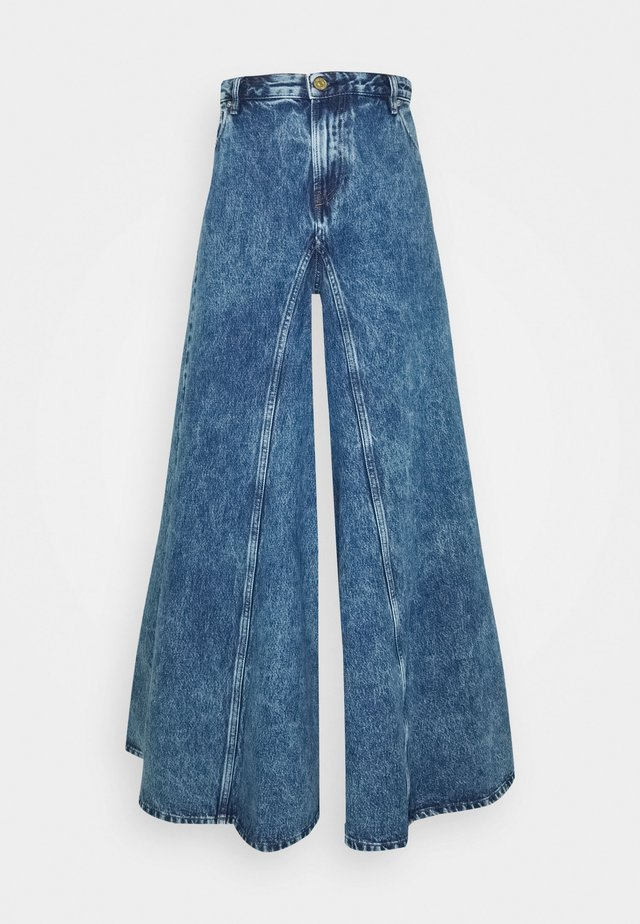 D-SPRITZZ - Jeans a zampa - indigo
