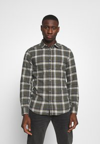 Only & Sons - ONSBOBBY WASHED CHECK - Skjorta - deep depths - 0