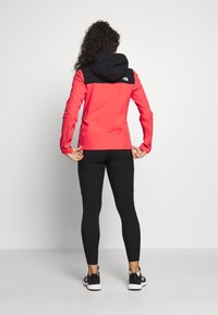 The North Face - WOMENS TENTE JACKET - Hardshell jacket - cayenne red/black - 2