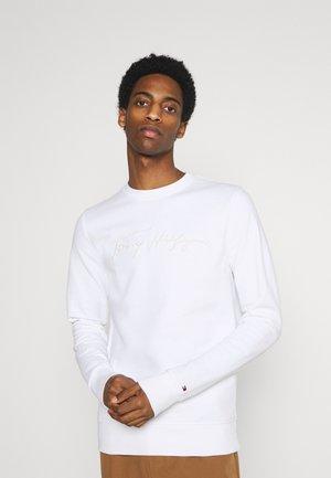 SIGNATURE CREWNECK - Sweatshirt - white