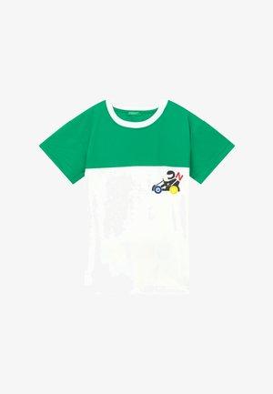 Triko spotiskem - green