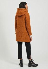 Vila - Classic coat - pumpkin spice - 2