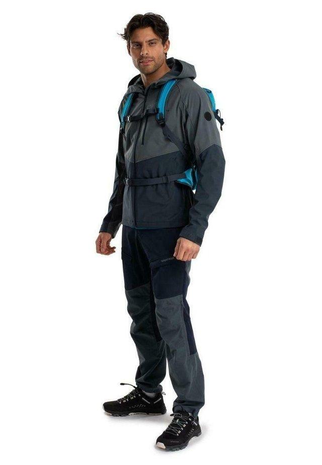 Lett jakke - skifergrå