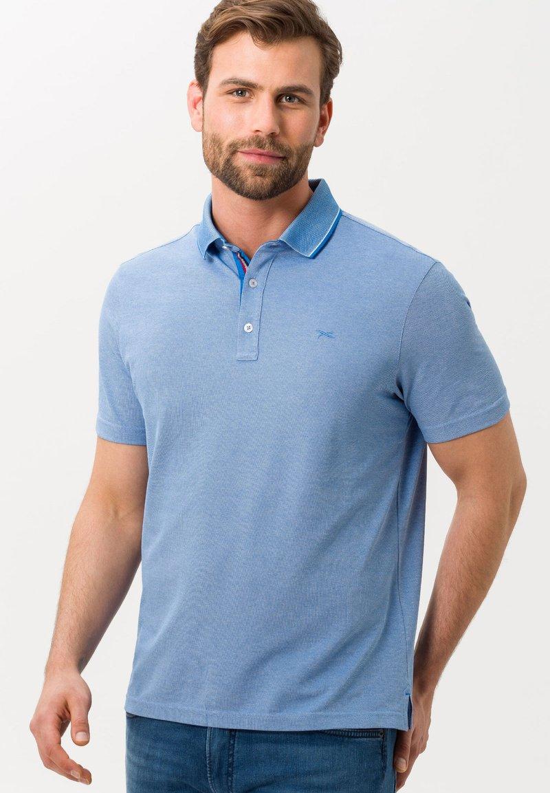 BRAX - STYLE PETTER - Polo shirt - light blue