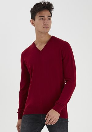 Jumper - autumn red