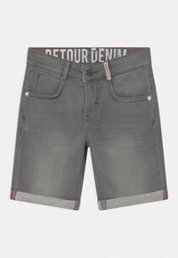 Retour Jeans - LOEK - Jeansshort - light grey denim - 0