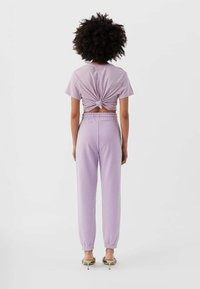Stradivarius - Tracksuit bottoms - purple - 2