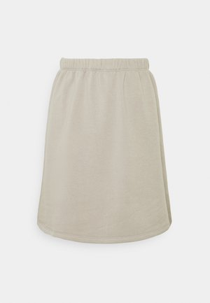 MINI SKIRT - A-linjainen hame - grey