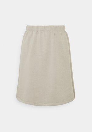 MINI SKIRT - A-line skirt - grey