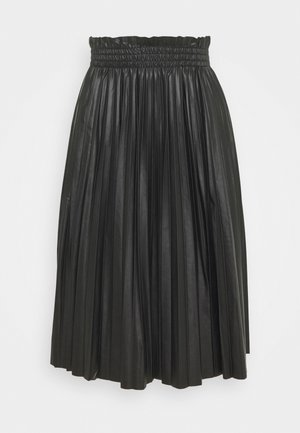 VMCLARIN KNEE SKIRT - Pleated skirt - black