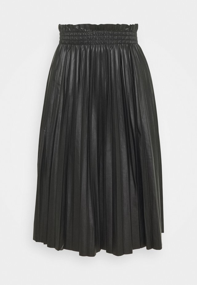 VMCLARIN KNEE SKIRT - Plooirok - black