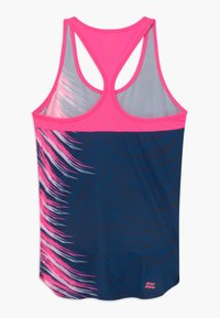 BIDI BADU - CLEO TECH TANK - Top - dark blue/pink - 1