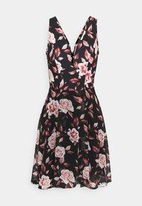 WAL G. - ISABELLE V NECK DRESS - Day dress - floral - 4