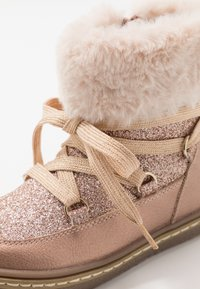 Friboo - Lace-up ankle boots - rose gold - 2