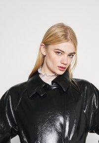 Weekday - JANIS SHORT JACKET - Short coat - black - 3