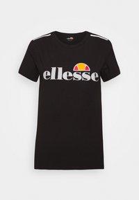 Ellesse - DELLE - Print T-shirt - black - 3