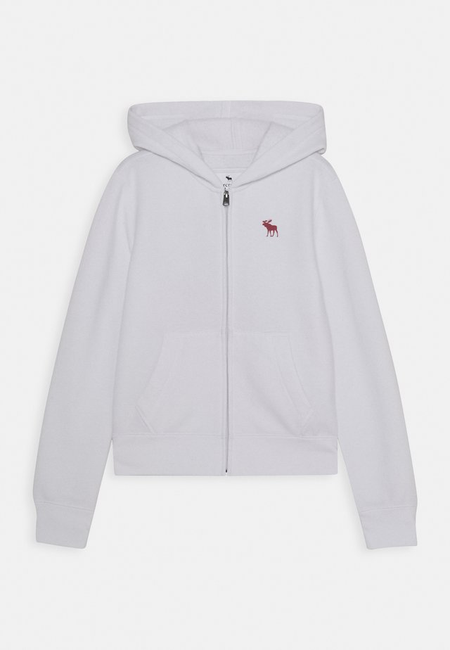 CORE - Zip-up hoodie - white