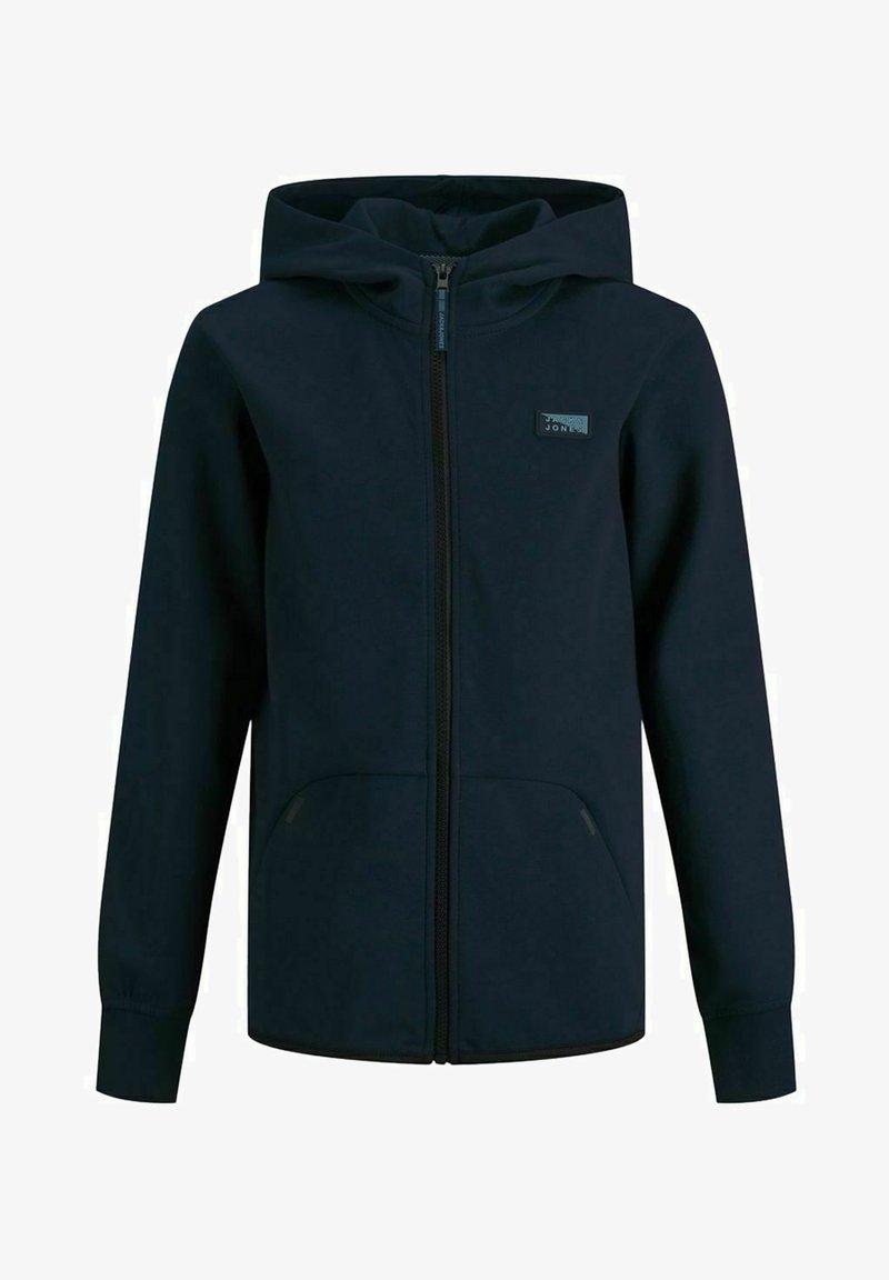 Jack & Jones Junior - Zip-up sweatshirt - navy blazer