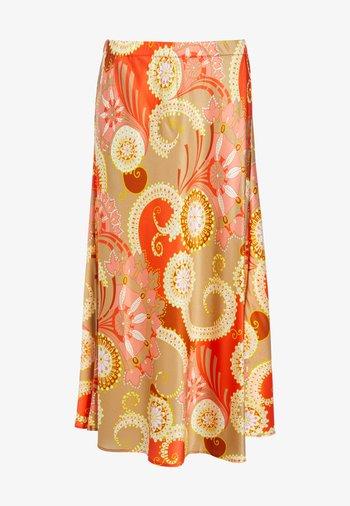 ERICA - A-line skirt - khanga taupe