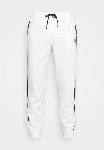TRACK PANTS YOUNGLINE - Tracksuit bottoms - blanc de blanc/night sky