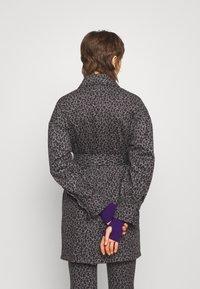Diane von Furstenberg - MANON COAT - Short coat - grey - 2