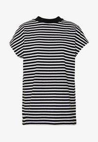 Weekday - PRIME STRIPE - Print T-shirt - black/white - 3