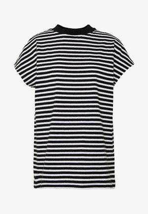 PRIME STRIPE - Print T-shirt - black/white