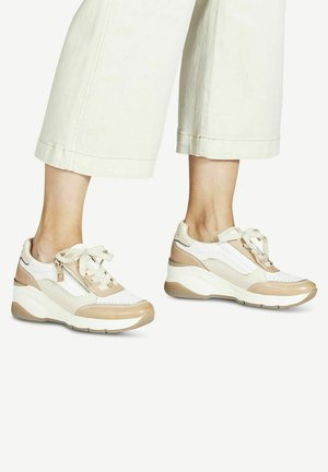 LACE UP - Sneakers laag - camel comb