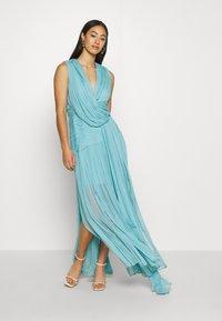 Thurley - WATERFALL DRESS - Galajurk - blue nile - 1