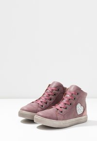 Friboo - High-top trainers - bordeaux - 3