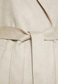 Vero Moda - VMNAPOLI JACKET - Short coat - oatmeal - 2