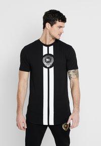 Supply & Demand - RUNNER  - T-shirts print - black - 0