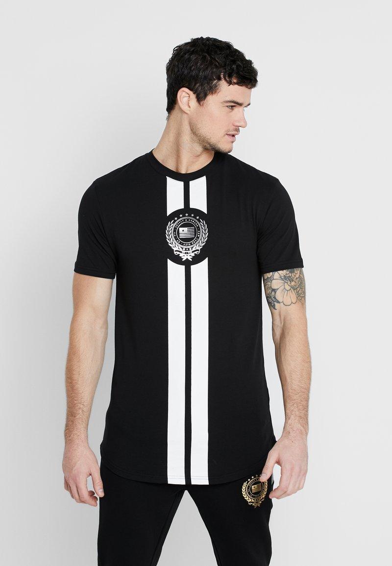 Supply & Demand - RUNNER  - T-shirts print - black