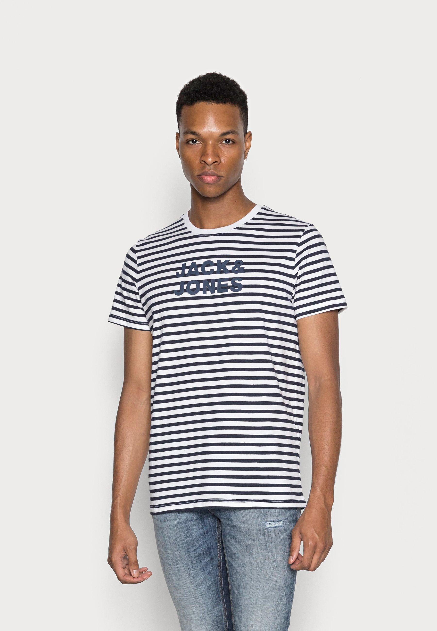 Men JJVARDANT TEE CREW NECK - Print T-shirt
