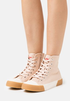 High-top trainers - rose