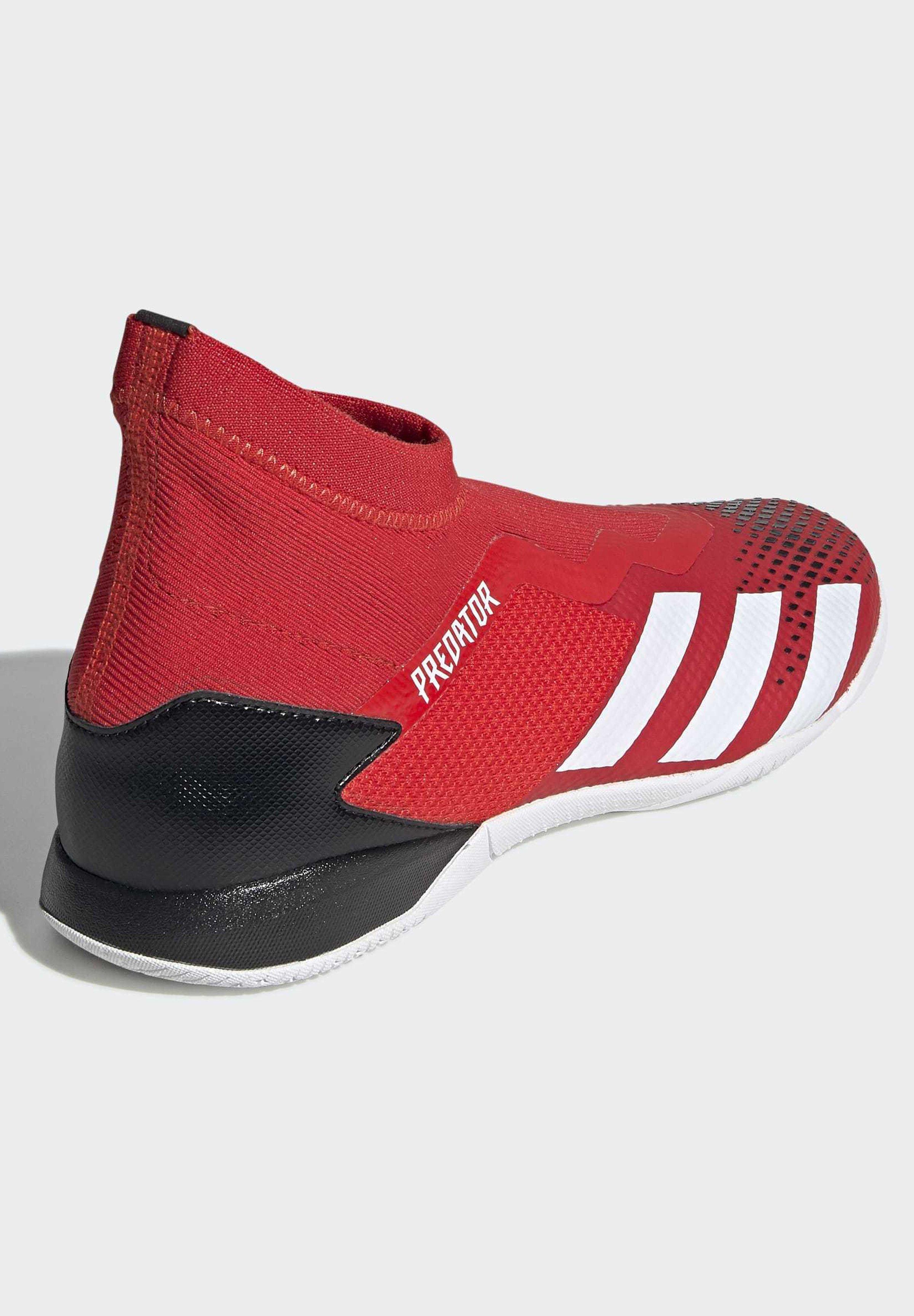 adidas Performance PREDATOR 20.3 INDOOR BOOTS - Fußballschuh Halle - red/rot - Herrenschuhe X7e0X