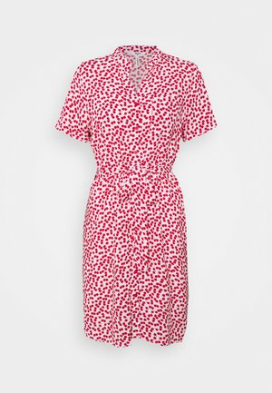 OBJELISE SHIRT DRESS PETIT - Sukienka letnia - cloud dancer
