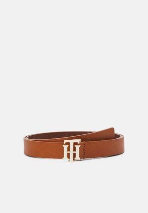 LOGO BELT - Belt - brown