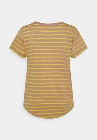Madewell - SORREL WHISPER CREWNECK TEE IN LOBSTER STRIPE - Print T-shirt - faded earth - 1