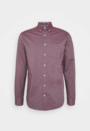 THE OXFORD - Shirt - port red