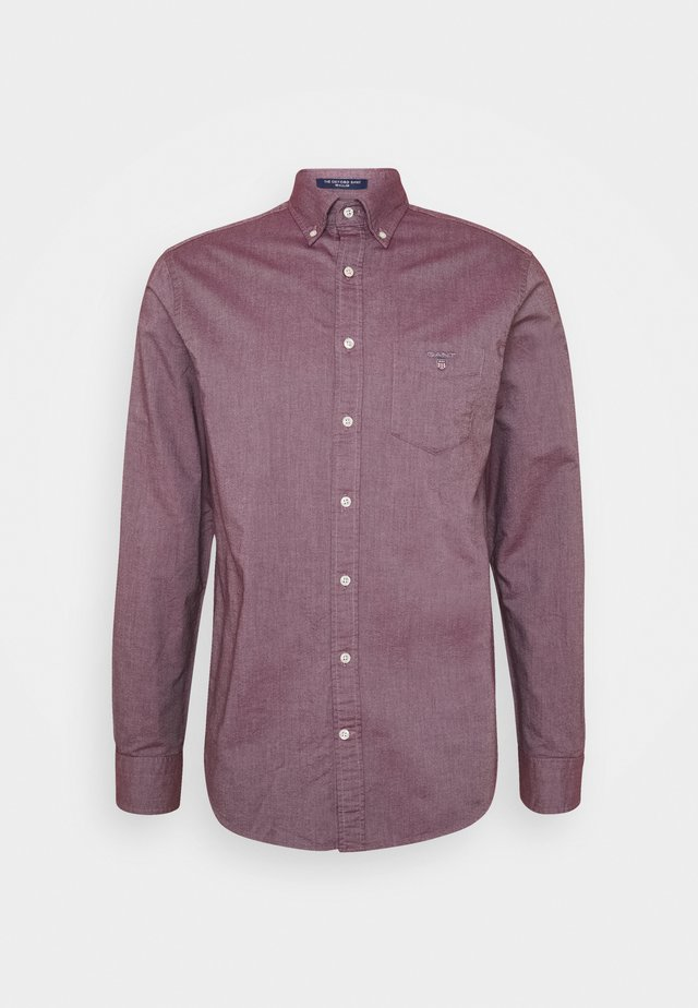 THE OXFORD - Camisa - port red