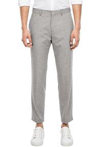 s.Oliver BLACK LABEL - Suit trousers - brown melange - 3