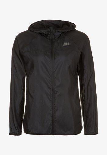 Waterproof jacket - black