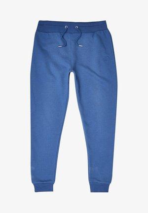 SLIM FIT - Träningsbyxor - blue